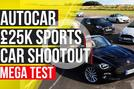 £25k sports car shootout
