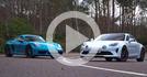 2020 Porsche 718 Cayman T vs 2020 Alpine A110S
