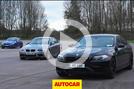BMW M-car drag race Autocar