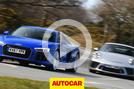 Audi R8 vs 911 GT3