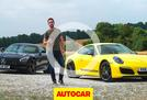 2018 Mercedes-AMG GT C vs Porsche 911 Carrera T