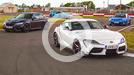 Toyota Supra group test video thumbnail