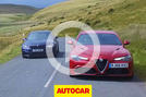 Video: Alfa Romeo Giulia Quadrifoglio vs BMW M3 Competition Pack