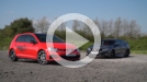 VW Golf GTI TCR vs Honda Civic Type R video thumbnail