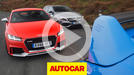 Audi TT RS vs Mercedes-AMG A45 vs Ford Focus RS