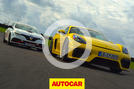 Porsche Cayman GT4 vs Renault Megane RS Trophy-R