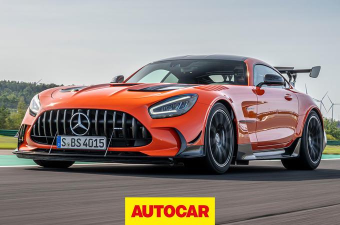 Mercedes-AMG GT Black Series video thumbnail
