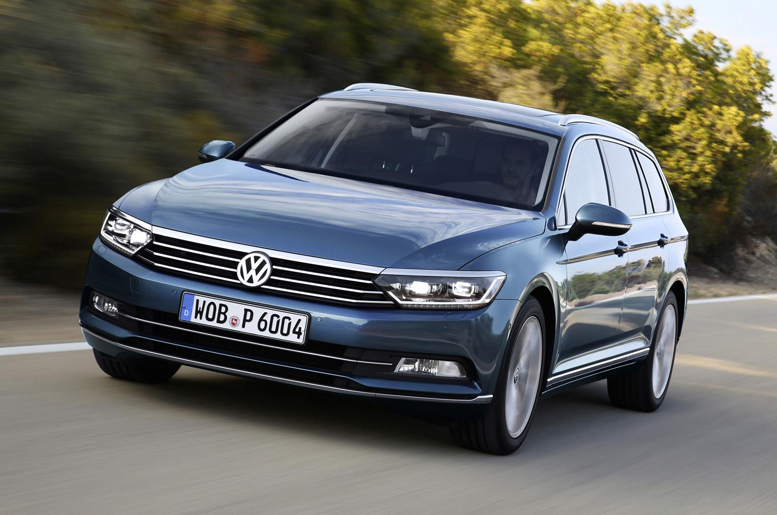 Volkswagen Passat Estate 2 0 Tdi Bluemotion Technology First Drive